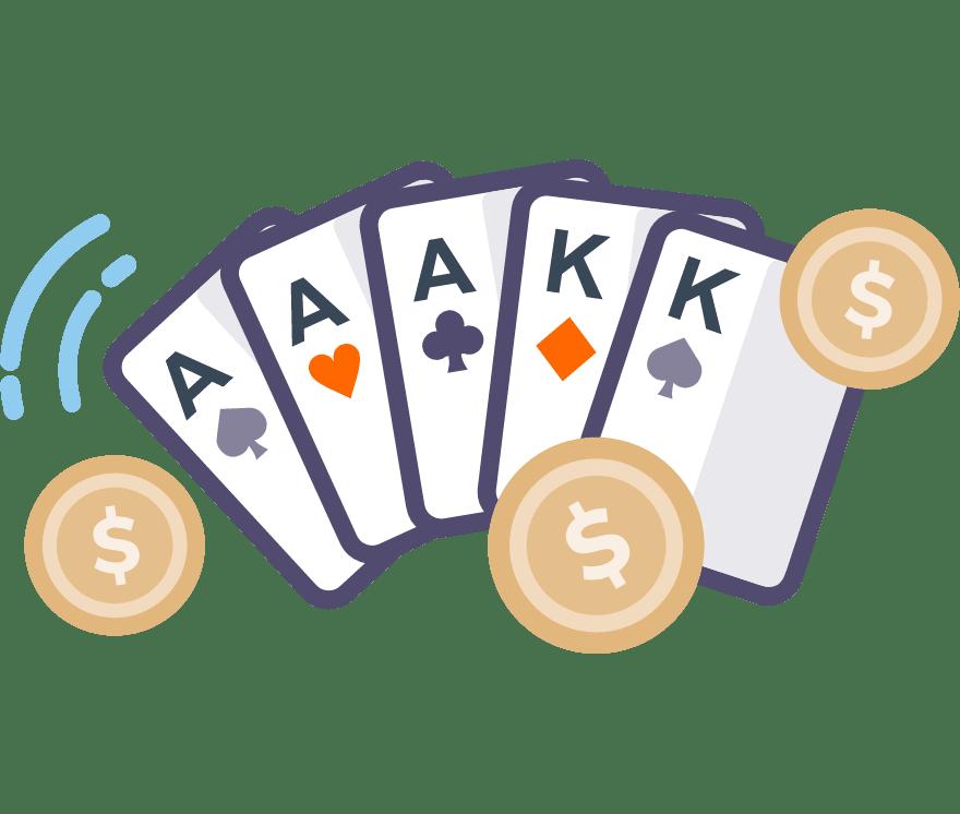 Pelaa Pokeri verkossa -Suosituimmat 76 eniten maksavaa New Casinoä 2021