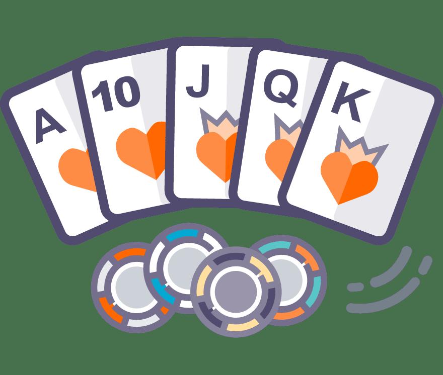 Pelaa Texas Holdem verkossa -Suosituimmat 36 eniten maksavaa New Casinoä 2021